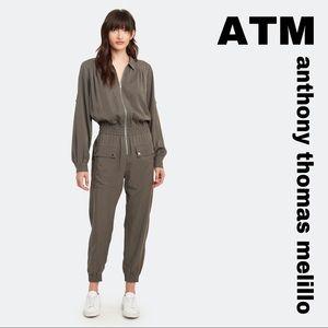 ATM Anthony Thomas Melillo Silk Jumsuit
